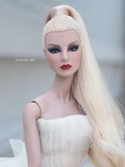 repaint fashion royalty aristocratic agnes (eifel85, eifel doll dress) Tags: repaint fashion royalty aristocratic agnes