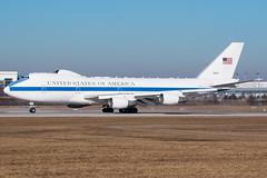 E-4B at Munich (lha-spotter.de) Tags: 731676 boeing e4b usaf us air force munich münchen eddm muc 1st airborne command control squadron siko e4 doomsday plane