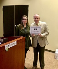 I always enjoy speaking with the Nashville Civil War Roundtable, and tonight proved no exception. Thanks to round table president, and guardian of Fort Negley, Krista Castillo. #civilwar (civilwarhistorian) Tags: civilwar