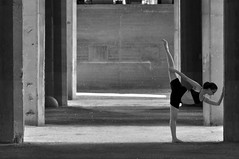 (Asaf Sagi) Tags: woman urban people athletic dance ballet