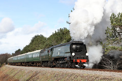 34072 '257 Squadron' (1948) (Roger Wasley) Tags: 34072 257squadron steam locomotive swanage railway trains railways heritage preserved preservation engine dorset
