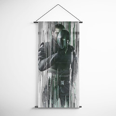 Tom Clancy's 75 Rainbow Six Siege Vigil Decorative Banner Flag for Gamers (gamewallart) Tags: background banner billboard blank business concept concrete design empty gallery marketing mock mockup poster template up wall vertical canvas white blue hanging clear display media sign commercial publicity board advertising space message wood texture textured material wallpaper abstract grunge pattern nobody panel structure surface textur print row ad interior