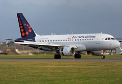 OO-SSV Brussels Airlines (Gerry Hill) Tags: oossv brussels airlines airbus a319111 a319 111 edinburgh airport gerry hill scotland turnhouse ingliston d90 d80 d70 d7200 d5600 boathouse bridge nikon aircraft aeroplane international airline edi egph airplane transport