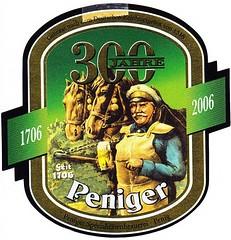 Germany - Brauerei Penig (Penig) (cigpack.at) Tags: germany deutschland brauereipenig penig 300thanniversary bier beer brauerei brewery label etikett bierflasche bieretikett flaschenetikett