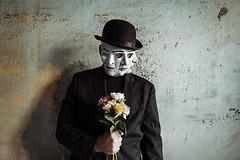 Uncertainty... (Jordan_K) Tags: portrait mask people surreal face concept color colorphotoaward emotional emo