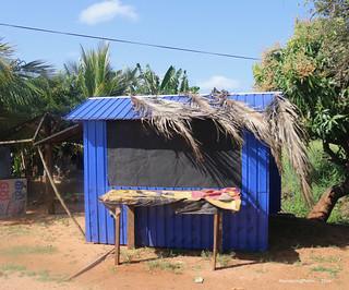 Small closed stall - Sri Lanka