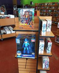 Megaman Crash Bandicoot (DrPain9000) Tags: videogames megaman crashbandicoot figures
