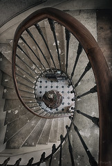 """Même si tu sais pas danser, on pourrait tourner un peu... "" MPL (ElfeMarie) Tags: stairs stair staircase stairwell escalier design architecture marilynek artmajeur sigma canon 70d 1020mm abandonné abandoned creepy colors couleurs decay derelict decayed décrepit darkness dust decaying exploration explorationurbaine forgotten faded france glow hdr inside interieur imagination lost light lumière lueur luminescence manoir manor mansion oublié old obscurité past poussiere peaceful texture urbex villa telephone"