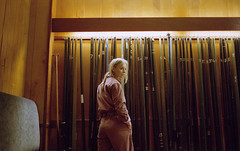 Charlotte Parker (fraser_west) Tags: portrait film analog 35mm cinematic snookerclub hall girl youth uk kodak portra portra800 cinema grain canon eos3 2019 wetheconspirators