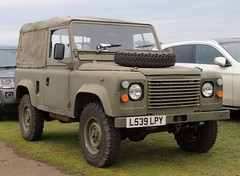 L539 LPY (Nivek.Old.Gold) Tags: 1993 land rover defender 90 softtop 2495cc army