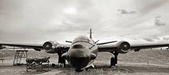 Canberra Bomber.. (mickb6265) Tags: simpsonsbarracks northampton northamptonshire rpc englishelectriccanberrat17 wh740 eastmidlandsaeropark castledonington derby