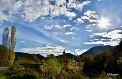 Paysage (Jehanmi) Tags: landscapebeauty landscape nuage cloud sky ciel nikon france lesplusbeauxvillagesdefrance thebeautyofnature paysage nature drôme montbrunlesbains