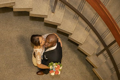 Just Married - Toronto City Hall (A Great Capture) Tags: agreatcapture agc wwwagreatcapturecom adjm ash2276 ashleylduffus ald mobilejay jamesmitchell toronto on ontario canada canadian photographer northamerica fall autumn automne herbst 2018 wedding bride groom cityhall stairs steps staircase man woman husband wife flowers weddingphotographer weddingphotography mp canon eos 6d mark ii 2470mm