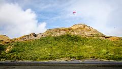 Karioitahi Beach (Stefan Marks) Tags: tasmansea beach bush cloud nature ocean outdoor paragliding rock sand sky sports waiuku northisland newzealand