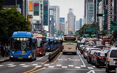(seua_yai) Tags: asia southkorea bus transit gangnamroad traffic brt koreaseoul2018