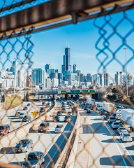 architecture-bridge-broken-1769376 (toptenalternatives) Tags: architecture bridge broken buildings business cars chain link fence chicago city daylight highway landmark modern motion outdoors road steel street technology tourism traffic transportation system travel urban vehicles willis tower
