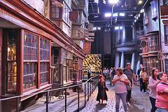 Harry Potter - Diagon Alley Looking toward Gringotts (raluistro) Tags: london london2018 europe harrypotter diagonalley warnerbrothersstudios