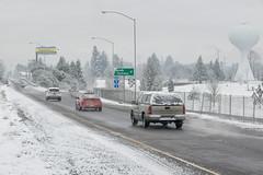 Wet roads in Salem-Keizer (OregonDOT) Tags: winter snow snowstorm oregondot i5 willamettevalley salem