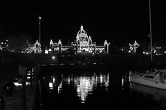 BC Parliament Night (Tom_Jones7) Tags: travel travelling life city adventure travelphotography travelbug passion travelmore goexplore newplaces myview explorer photo photograph photographer lifestyle canon road trip roadtrip bc british columbia canada 2017 2k17 victoria vanisland vancouver island parliament building lights night boat reflection reflect black white blackwhite bw bnw blackwhitephoto monochrome excellentbnw noir blackwhitelife noirvision contrast bcparliament buildings photographyislife photographerlifestyle justgoshoot icatching exploringtheworld optoutside exploretocreate discover discoverearth travelphoto worldpics stayandwander goroam keepexploring travelworld mylifeinphotos