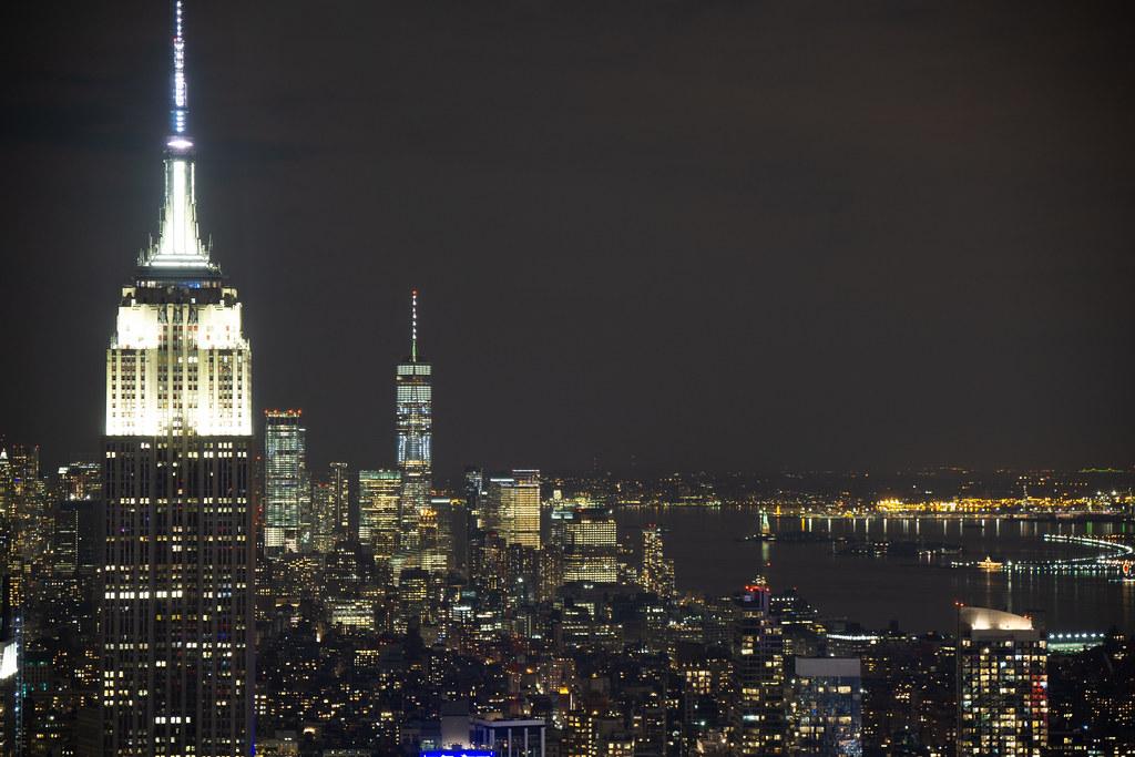 d7de784822 New York City at night (José X) Tags  newyork nyc ny night noche
