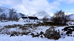 Blackrock Cottage (andrewmckie) Tags: blackrockcottage rannochmoor buachailleetivemor highlands scotland scottish scottishscenery scenery winter