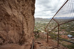 Echo Canyon Trail at Camelback Mountain (Lucie Maru) Tags: arizona phoenix hike hiking top view rock rocks hill urbanhike