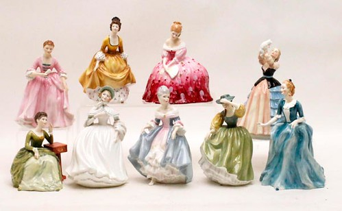 39 Royal Doulton Figurines ($1,489.60)