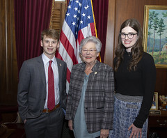 Photo op with YMCA Youth Governor  46