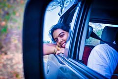 When she njoys the nature. (Jansha Crazy) Tags: travel travelfreek she shoot nature