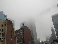 2019 February Monday Fog - President's Day 2009 (Brechtbug) Tags: 2019 february monday fog virtual clock tower from hells kitchen clinton near times square broadway nyc 02182019 new york city midtown manhattan winter weather building breezy cloud hell s nemo southern view