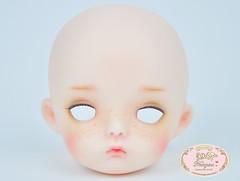 Secret doll (♥..Nomyens..♥) Tags: bjd balljointdoll toy doll custom faceup paint painting painted repaint handmade nomyens nomyenscom secretdoll tiny tinydoll