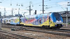 Z 24655/56 (378) + Z 24737/38 (619), Amiens - 11/06/2010 (Thierry Martel) Tags: z24500 amiens automotrice sncf
