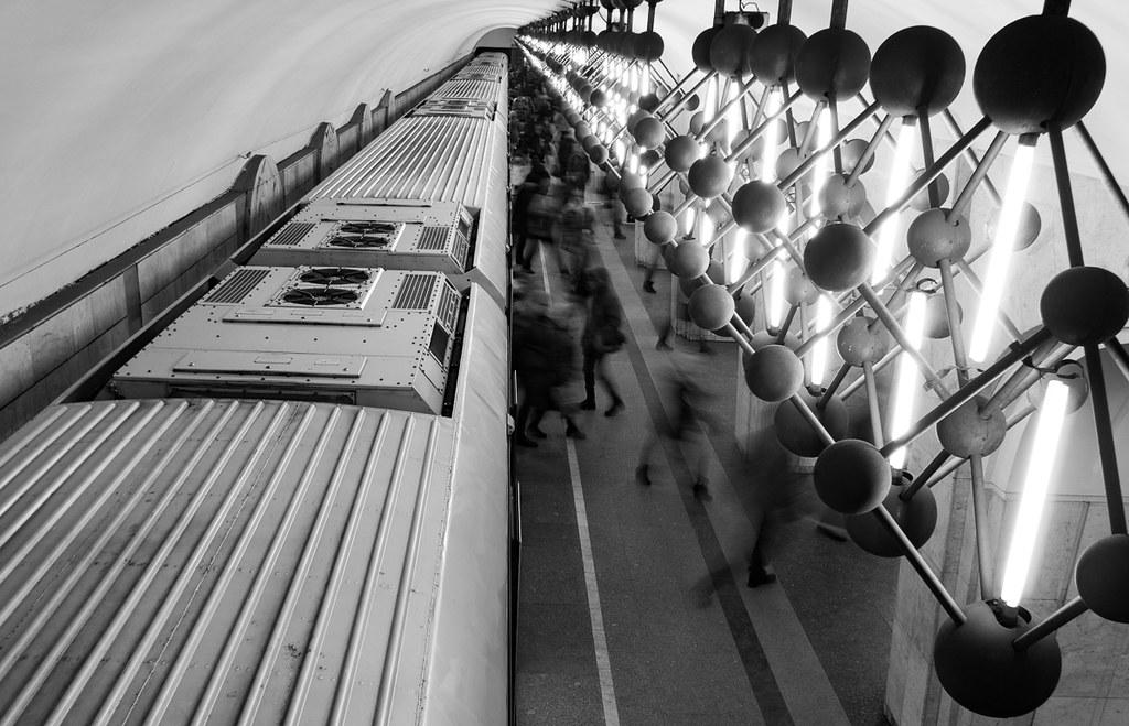 фото: Менделеевская / Moscow metro, Mendeleev station