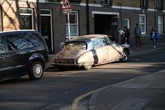 DSC_1010 London Columbia Road Sunday Flower Market 1967 Citroen DS French Car AKX261E (photographer695) Tags: london columbia road sunday flower market citroen ds french car 1967 akx261e