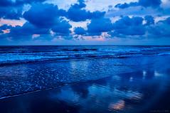 Ostia Blue Hour, Rome, Italy (Claudio_R_1973) Tags: shore seaside ostia blue tirrenian mediterranean italia italy centralitaly bluehour colormonochrome vivid dusk nature landscape outdoor