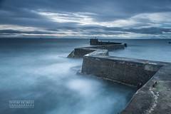 B R E A K W A T E R (inspireanimage) Tags: breakwater longexposure le leefilters harbour marina scotland st monans sunrise sky