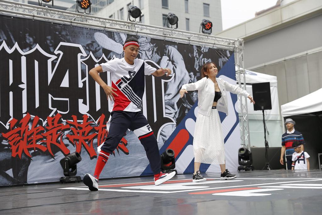 FILA特別將街舞融入Fashion Show展演 展現FILA最具設計感服飾_3