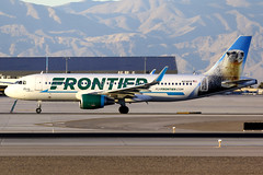 Frontier Airlines | Airbus A320-200 | N236FR | Las Vegas McCarran (Dennis HKG) Tags: aircraft airplane airport plane planespotting canon 7d 100400 lasvegas mccarran klas las frontier frontierairlines fft f9 airbus a320 airbusa320 sharklets n236fr