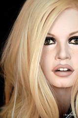 Brigitte Bardot sculpture  new makeup (Terry Minella) Tags: 60s mannequin sculpture bb rootstein lifesize brigittebardot sexy photography color movie cinema celebrity famous blonde schaufensterpuppe schaufensterfigur