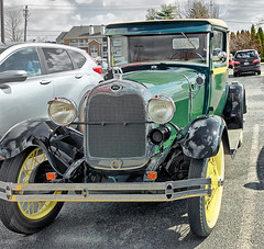 Ford Model A Cabriolet (SteveMather) Tags: 1930 1931 ford model a cabriolet green restored