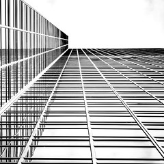 (jfre81) Tags: black white blackandwhite monochrome lines diagonal horizontal parallel grid bw reflection negative space onwhite abstract minimalist architecture james fremont jfre81 canon rebel xs eos 2019 square crop