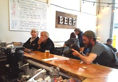 Beer Photos at Ale Spike Brewery (Jeffxx) Tags: ale spike brewery camano 2019 photographer beer bar menu list camera