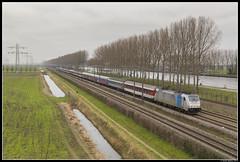 Rail Experts 186 291, Loenersloot (J. Bakker) Tags: rail experts rxp lineas br186 traxx 186 291 railpool 70453 loenersloot nederland alpen express
