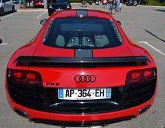 AUDI R8 V10 (1ère génération) - 2009 (SASSAchris) Tags: audi r8 1ère génération v10 voiture allemande auto 2 tours dhorloge castellet circuit ricard