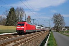 P1790422 (Lumixfan68) Tags: eisenbahn züge loks baureihe 101 drehstromloks elektroloks deutsche bahn db adtranz intercity ic schnellzüge
