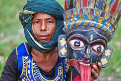 Gomira Mask Dancers of Bengal - A Portrait (pallab seth) Tags: gomiramask artisans dancers bengal india mukhakhel mahisbathan khuniadanga kushmandi craftsmen crafts maskmakers woodenmask ancient ritual tradition maskdance folkart artists animism rituals portrait face