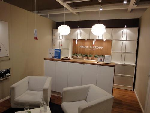 カフェやお家ショップをイケアのインテリアでと題した写真