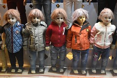 iran dec 18 (101) (gerboam) Tags: iran december 2018 mannequin coats clothes wigs scary little people