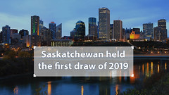 Saskatchewan invites 596 candidates through it's first draw of 2019 (immigrationexperts) Tags: edmonton alberta canada city autumn night twilight dark architecture saskatchewan river north downtown view sky bridge building urban fall cityscape blue valley color modern yellow landscape colorful spring outdoor work office forest scenery clouds landmark leaves colors trees aspen