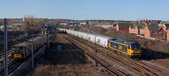 Bio Mass Transit (Richie B.) Tags: 6n19 gbrf great britain railfreight brush traction procor mirrlees class 60 60095 pelaw metro gateshead tyne wear